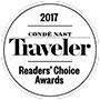 2017 cond Nast traveler - Readers' choice awards